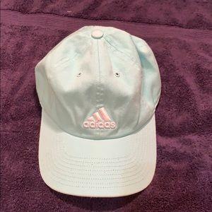 Adidas mint green hat